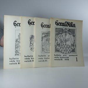 náhled knihy - 4x Heraldika (ročník XI, čislo 1 - 4)
