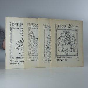náhled knihy - 4x Heraldika (ročník XII, číslo 1 - 4)