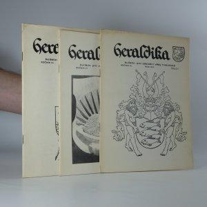 náhled knihy - 3x Heraldika (ročník VI, Číslo 1 - 4)