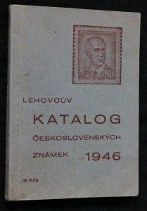 náhled knihy - Lehovcův katalog československých známek 1946