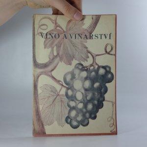 náhled knihy - Víno a vinařství