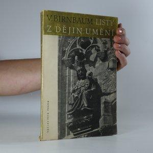 náhled knihy - Listy z dějin umění