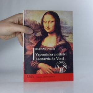 náhled knihy - Vzpomínka z dětství Leonarda da Vinci