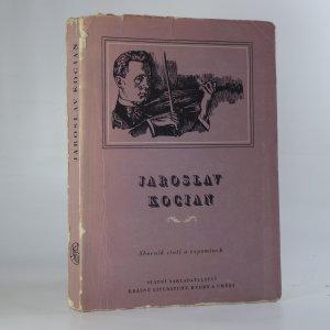 náhled knihy - Jaroslav Kocian. Sborník statí a vzpomínek.
