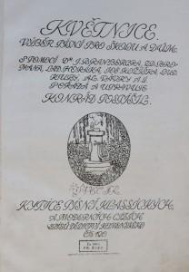 antikvární kniha Květnice: výběr básní pro školu a dům, neuveden
