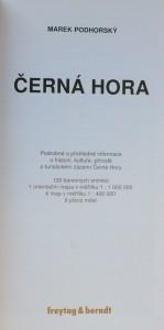 antikvární kniha Černá Hora : podrobné a přehledné informace o historii, kultuře, přírodě a turistickém zázemí Černé Hory, 2010