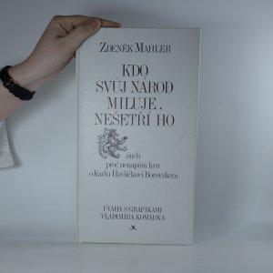 náhled knihy - Kdo svůj národ miluje, nešetří ho