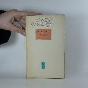 náhled knihy - Divoké víno