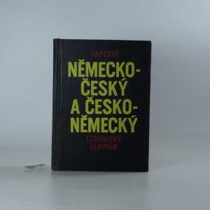 náhled knihy - Kapesní německo-český a česko-německý technický slovník