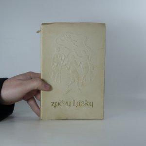 náhled knihy - Zpěvy lásky