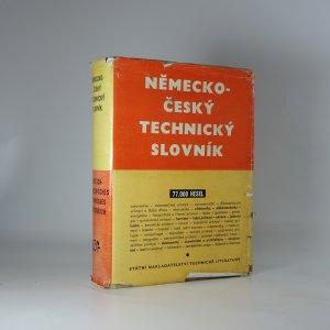náhled knihy - Německo-český technický slovník