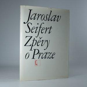 náhled knihy - Zpěvy o Praze