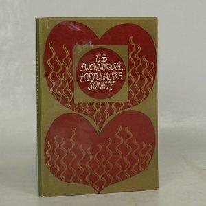 náhled knihy - Portugalské sonety. Pláč dětí.