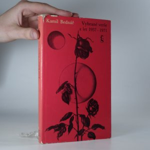 náhled knihy - Vybrané verše z let 1937–1971