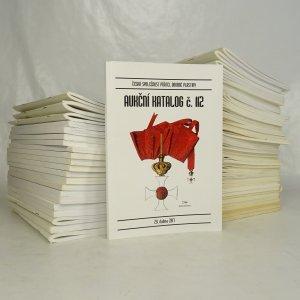 náhled knihy - Aukční katalogy společnosti přátel drobné plastiky (60 svazků, vypsáno v poznámce)