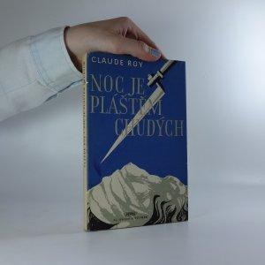 náhled knihy - Noc je pláštěm chudých