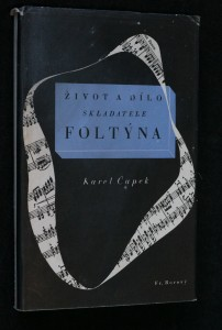 náhled knihy - Život a dílo skladatele Foltýna