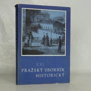 náhled knihy - Pražský sborník historický XXI.