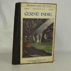 náhled knihy - Dobrodružné romány Julia Vernea. (tři kompletní knihy v jednom svazku) Černé Indie. Cesta do středu země. Malý Dobráček. + 2x stejný náhodný výňatek z Brehmova