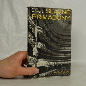 náhled knihy - Slavné primadony