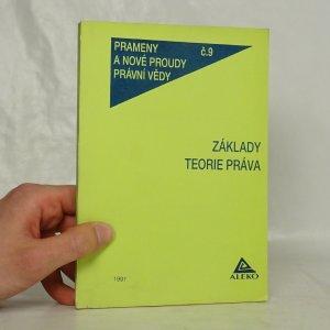 náhled knihy - Základy teorie práva