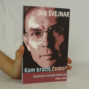 náhled knihy - Kam kráčíš, Česko? : rozhovor s Karlem Hvížďalou