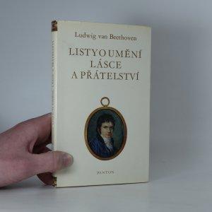 náhled knihy - Listy o umění, lásce a přátelství