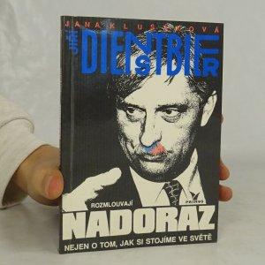 náhled knihy - Jana Klusáková a Jiří Dienstbier rozmlouvají nadoraz