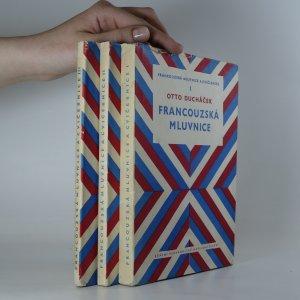 náhled knihy - Francouzská mluvnice a cvičebnice. (1. až 3. díl, komplet)