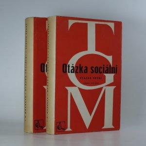 náhled knihy - Otázka sociální (2 svazky, komplet)