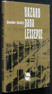 náhled knihy - Hazard pana Lessepse