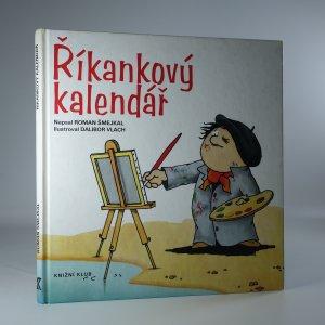 náhled knihy - Říkankový kalendář