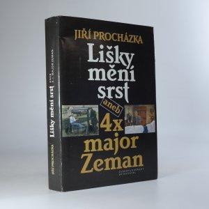 náhled knihy - Lišky mění srst, aneb, 4x major Zeman