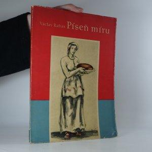 náhled knihy - Píseň míru. Cyklus nástěnných maleb a obrazů české krajiny z let 1945-1950.