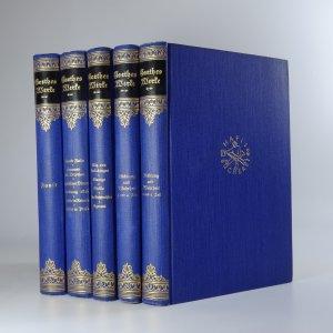 náhled knihy - Goethes Werke. 2., 3., 5., 9. a 10. díl (5 svazků)