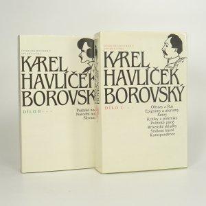 náhled knihy - Dílo Karla Havlíčka Borovského (2 díly ve 2 svazcích)
