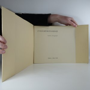 antikvární kniha Z Masarykova kraje. Cyklus litografií. (6 litografií), 1938