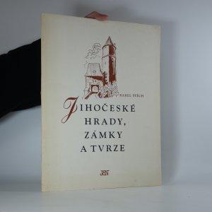 náhled knihy - Jihočeské hrady, zámky a tvrze. Reprodukce dřevorytů. (24 dřevorytů)