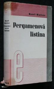 náhled knihy - Pergamenová listina : [román]