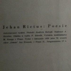 antikvární kniha Poesie, 1936