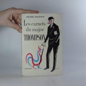 náhled knihy - Les carnets du major Thompson