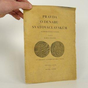 náhled knihy - Pravda o denaru svatováclavském
