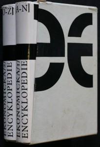 náhled knihy - Ekonomická encyklopedie - 2 svazky