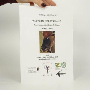 náhled knihy - African Studbook. Western Derby Eland.