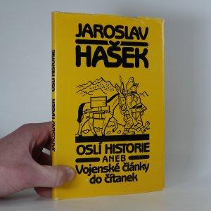 náhled knihy - Oslí historie