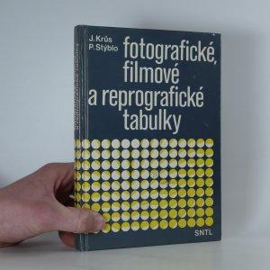 náhled knihy - Fotografické, filmové a reprografické tabulky