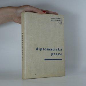 náhled knihy - Diplomatická praxe