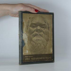 náhled knihy - Lidé nezapomenutelní