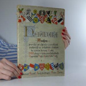 náhled knihy - Heraldika I. (nekompletní  - končí stranou 128)
