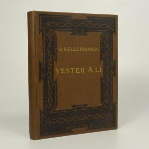 náhled knihy - Yester a Li